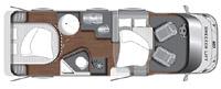 LMC Breezer Lift H 607 G - Grundriss